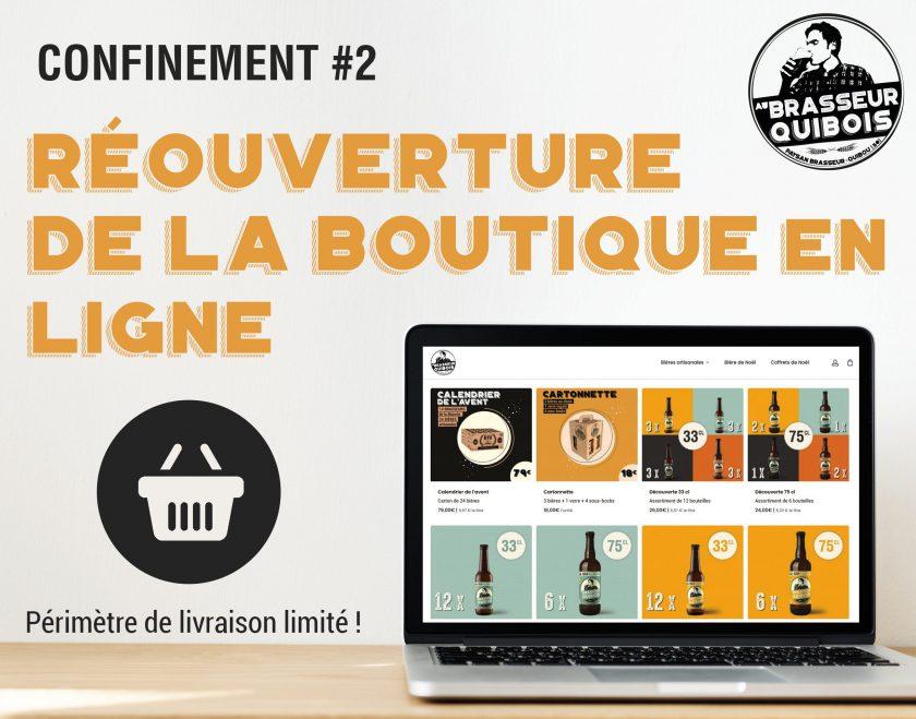reouverture boutique en ligne